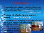 vlastnosti vody