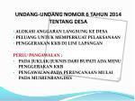 undang undang nomor 6 tahun 2014 tentang desa