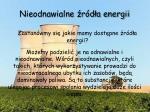 nieodnawialne r d a energii