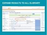 expand results to all elibrary