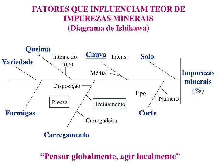 FATORES QUE INFLUENCIAM TEOR DE