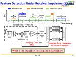 feature detection under receiver impairments