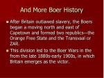 and more boer history