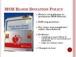 msm blood donation policy2