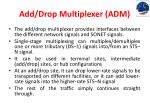 add drop multiplexer adm1