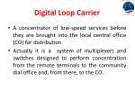 digital loop carrier1
