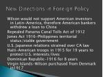 new directions in foreign policy