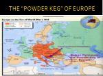 the powder keg of europe1