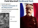 field marshall ferdinand foch