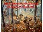 part 2 america in the war and the results of world war i