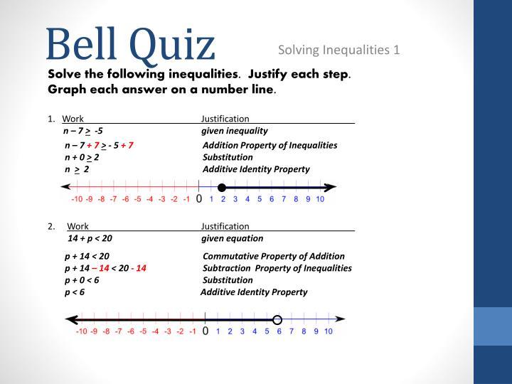 Bell quiz2