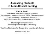 assessing students in team based learning
