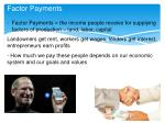 factor payments