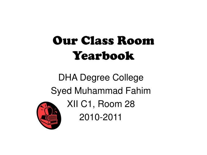 our class room yearbook n.