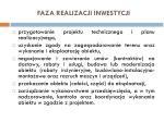 faza realizacji inwestycji