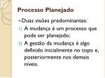 processo planejado