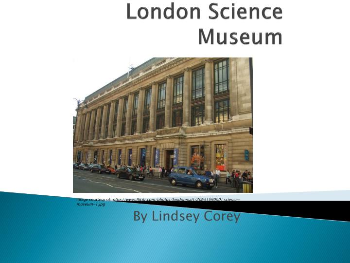 london science museum n.