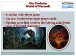 our products world of warcraft