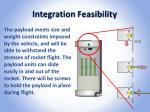 integration feasibility