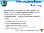 competence based training