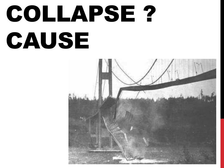 collapse cause n.