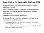 david morley the nationwide audience 1980