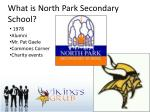 what is north park secondary school