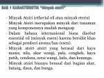 bab 1 karakteristik minyak atsiri