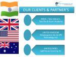 our clients partner s