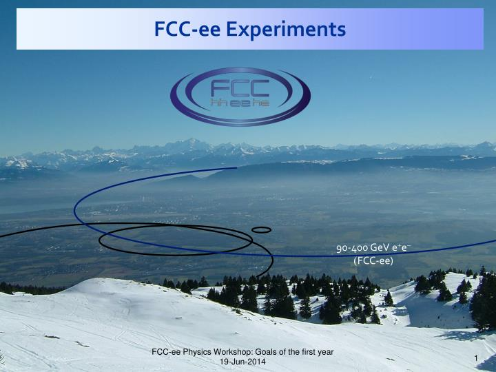 fcc ee experiments n.