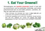 1 eat your greens