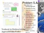 problem s a