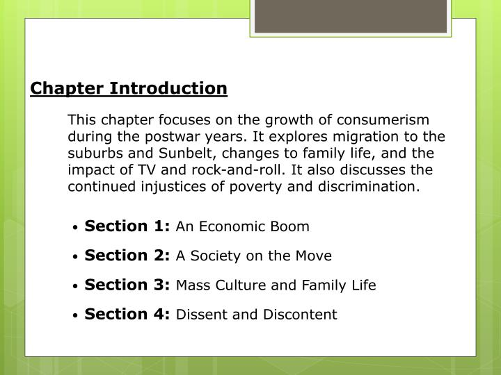 Chapter Introduction