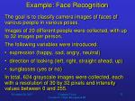 example face recognition1