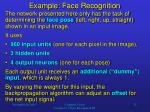 example face recognition2