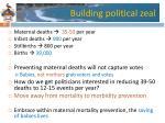 building political zeal