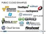 public cloud examples