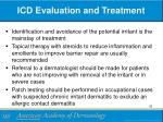 icd evaluation and treatment
