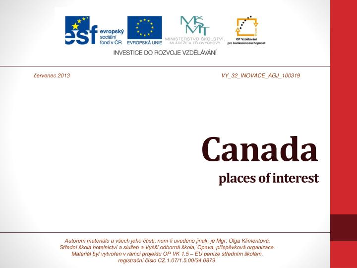 canada places of interest n.