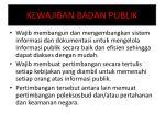 kewajiban badan publik1