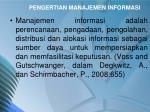 pengertian manajemen informasi1