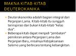 makna kitab kitab deuterokanika