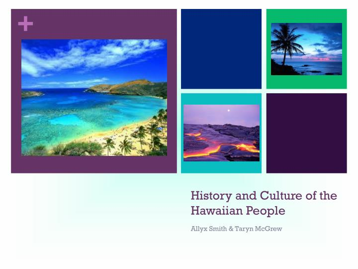 history and culture of the hawaiian people n.