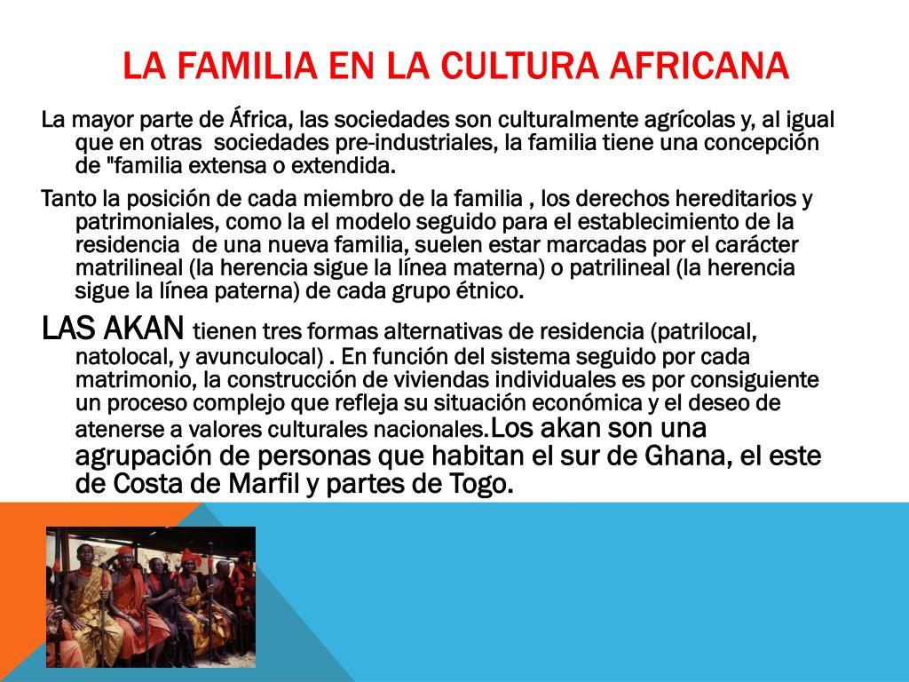 Ppt La Familia Y La Cultura Powerpoint Presentation Free