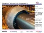 progress mechanical engineering
