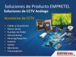 accesorios de cctv