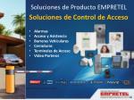 soluciones de control de acceso