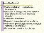 glikozidi