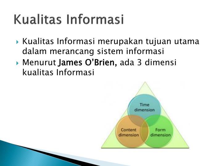 Kualitas informasi