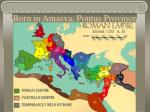born in amasya pontus province